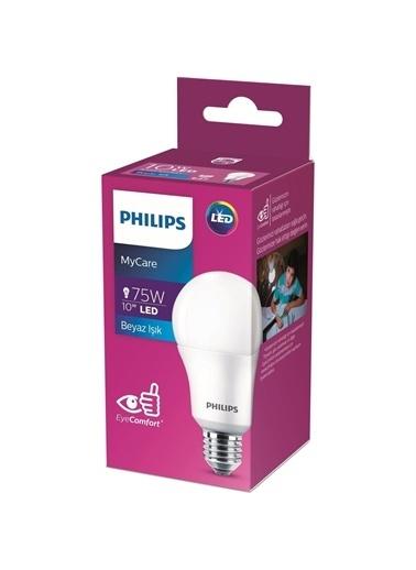 Philips Philips LEDBulb 10-75W E27 6500K Be,RNKL Renkli